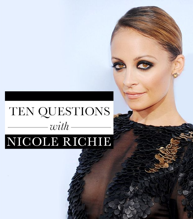 Troop Beverly Hills Quotes: 10 Questions With Nicole Richie: Date Outfits, Beauty Tips