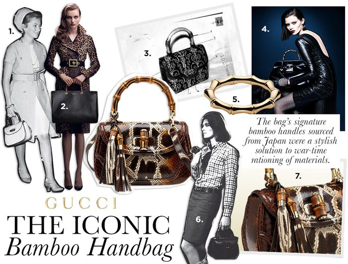 6635e44190dd6c Timeless Essential: Gucci's Bamboo Handbag | Who What Wear UK