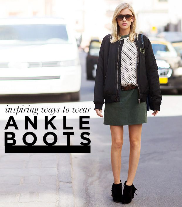Looks - How to black wear fringe boots video