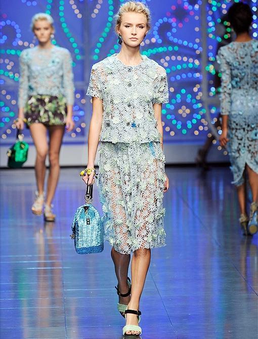 Spring/Summer 2012<br><br><i>Image courtesy of Dolce & Gabbana</i>