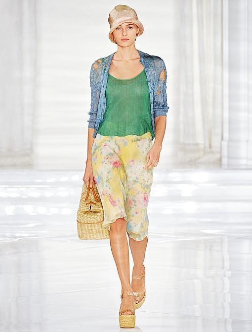 Spring/Summer 2012<br><br><i>Image courtesy of Ralph Lauren Collection</i>