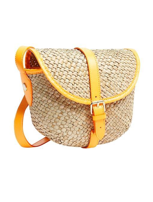 "<a href=""http://shop.nordstrom.com/s/marc-by-marc-jacobs-preppy-straw-canteen-bag/3308586?origin=keywordsearch&resultback=824"" target=""_blank"">Preppy Straw Canteen Bag</a> ($158) in Fluoro Orange"