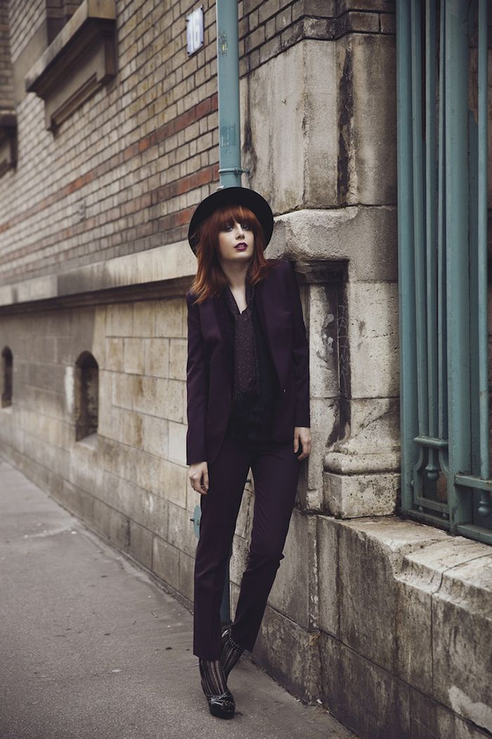 French Girl French Student French Teen French Teenager: Take Cues From French-Girl Style For Your Winter Fashion