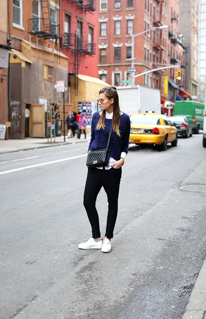 The Cool New Way To Wear A Cross Body Bag Who What Wear