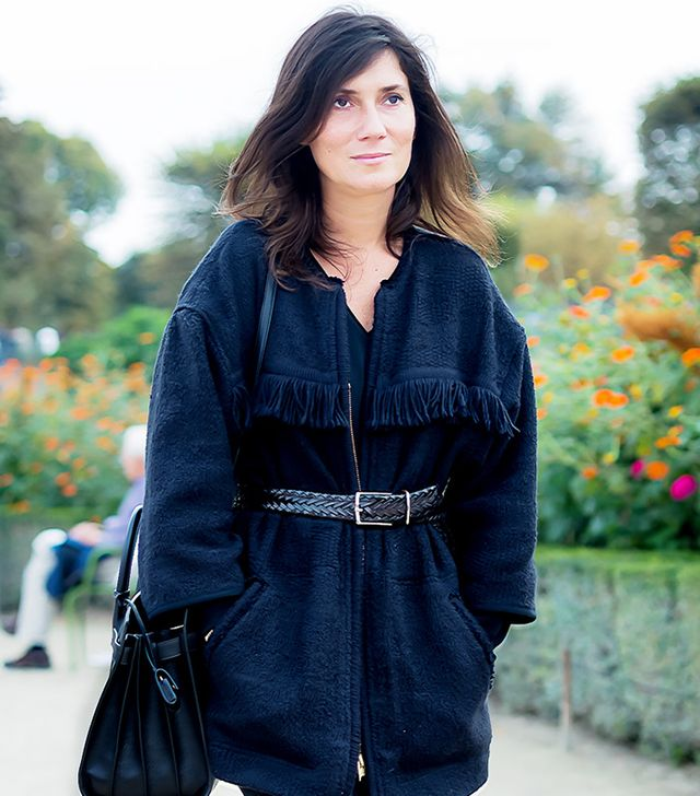 How To Wear Your Coat Like A French Vogue Editor