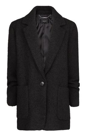 Mango Wool-Blend Oversize Coat