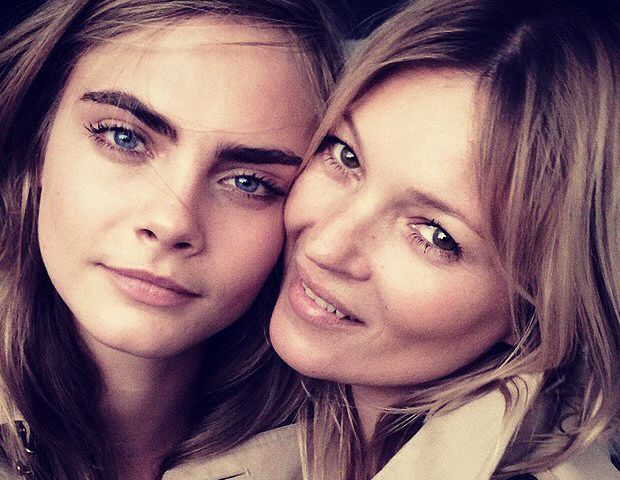 Kate Moss and Cara Delevingne Team Up--Plus, Lena Dunham Like You've Never Seen Her Before