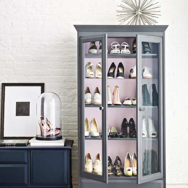 <p><strong>Glass Case Of <strike>Emotion</strike> Shoes</strong><br />