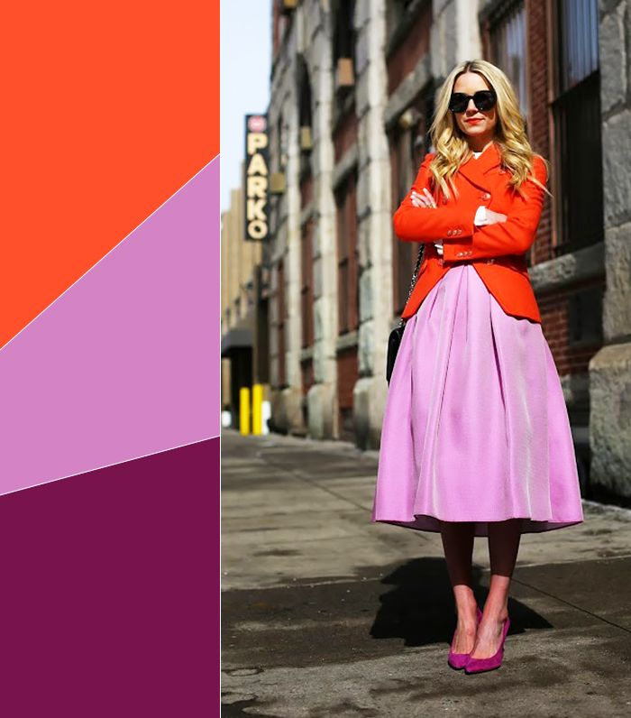 11 Chic Color Combinations To Wear This Spring Who What Wear