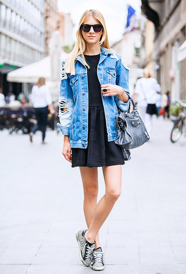 7 Ways To Style Your Denim Jacket This Spring Who What Wear Au