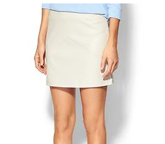 Townsen Reptile Leather Skirt
