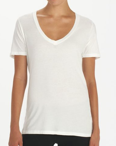 Groceries Relaxed V-Neck Tee Shirt
