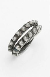 Tom Binns  Tom Binns Punk Pave Double Wrap Ring