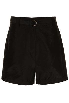 J.W. Anderson for Topshop  J.W. Anderson for Topshop Silk Taffeta Shorts