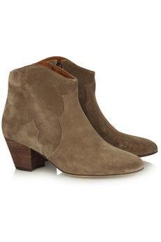Isabel Marant Isabel Marant Dicker Suede Boots