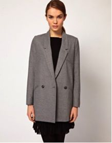 French Connection  Tailored Car Coat