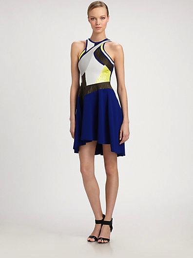 Antonio Berardi  Patchwork Dress