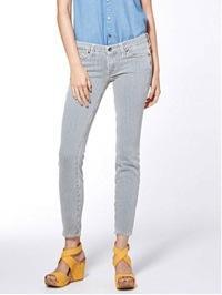 Lucky Brand Lucky Brand Charlie Skinny Railroad Stripe Jeans