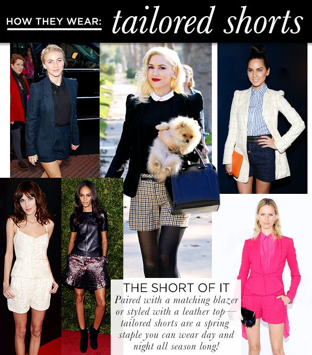 Six Ways To Wear Tailored Shorts This Season