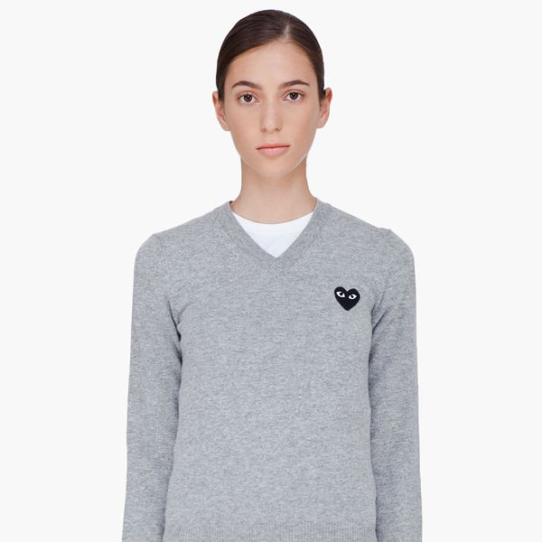 Comme Des Garcons Play Sweater