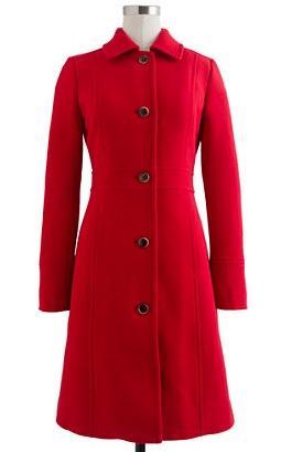 J.Crew Double Cloth Lady Coat