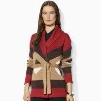 Lauren by Ralph Lauren Linen Shawl-Collar Cardigan