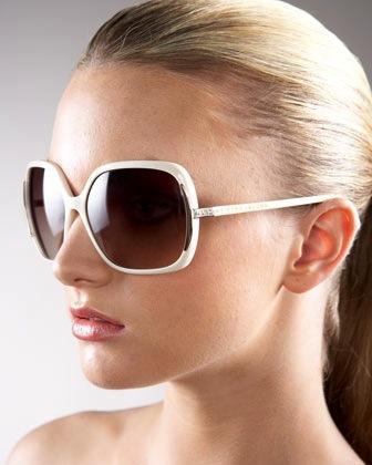 Marc by Marc Jacobs Marc by Marc Jacobs Thin Square Plastic Sunglasses