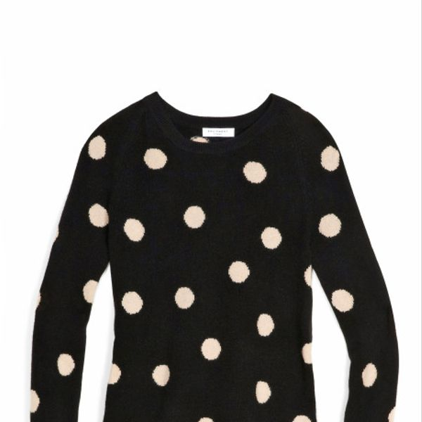 Equipment  Polka Dot Sweater
