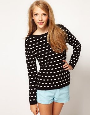 ASOS 3D Spot Sweater