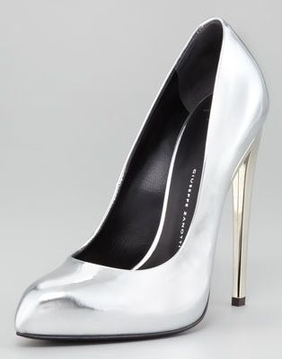 Giuseppe Zanotti  Mirror Patent Leather Pumps