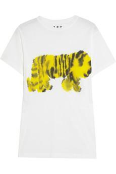 Marni Printed Cotton-Jersey T-Shirt