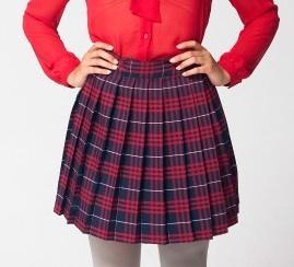 American Apparel Pleated Schoolgirl Skirt