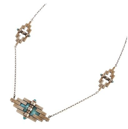 Pamela Love  Empire Reflection Necklace with Stone