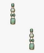 Forever 21 Faceted Drop Earrings