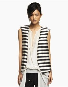 Kenneth Cole Kenneth Cole Mariel Striped Vest