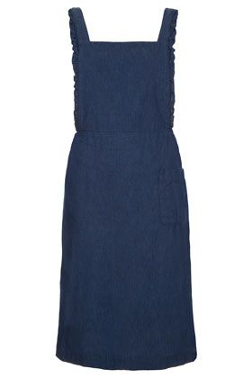 J.W. Anderson for Topshop  Frill Edge Pinafore