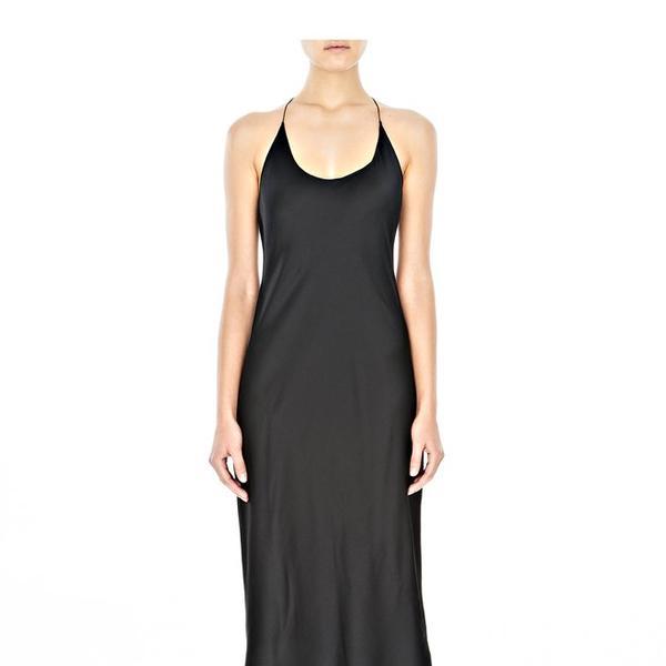 T by Alexander Wang Silk Satin Slip Dress