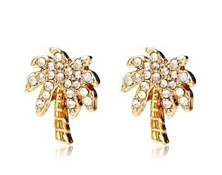 Juicy Couture Palm Tree Studs