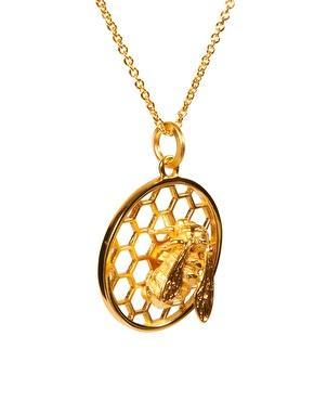 Bill Skinner Honeycomb Necklace