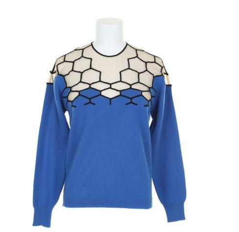 Marios Schwab Honeycomb Sweater