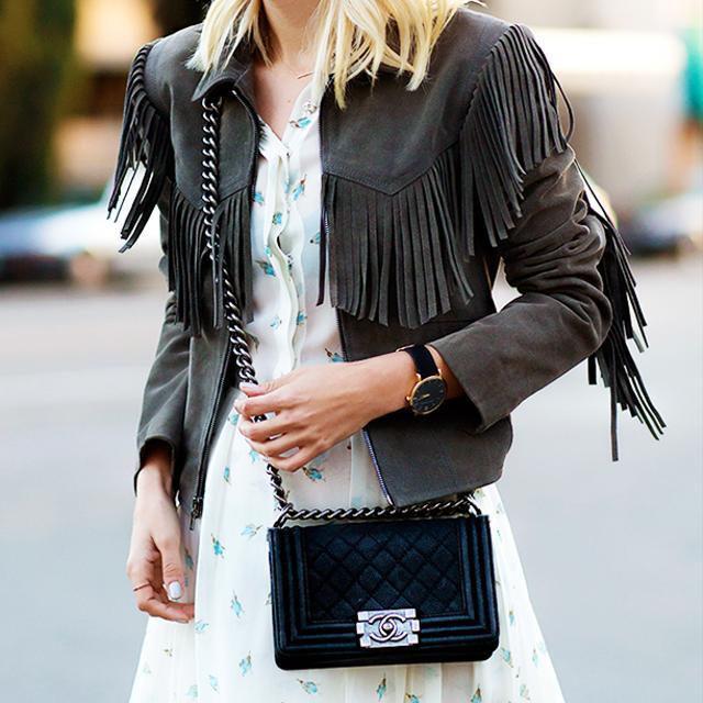 3 Chic Ways To Wear A Fringe Jacket