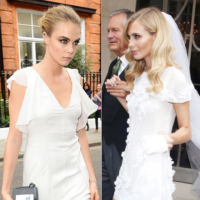 Swoon! Poppy Delevingne's Chanel Wedding Gown Is Every Girl's Dream