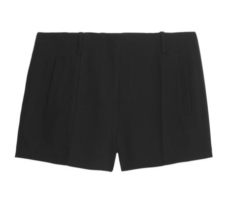 T by Alexander Wang Crepe Shorts