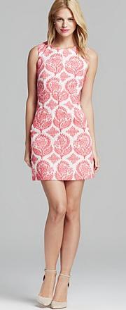 Diane Von Furstenberg Carpreena Mini Floral Stamp Dress