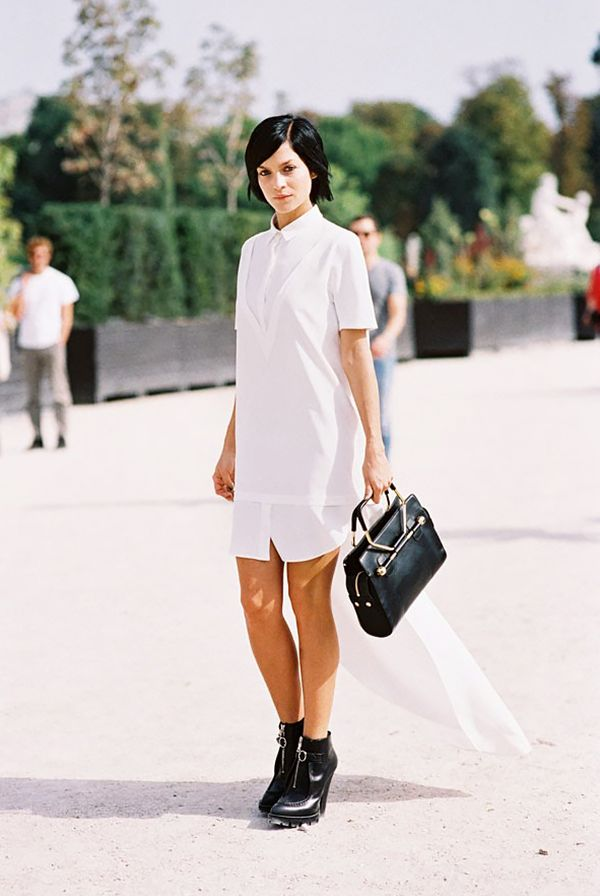 f72b8ebba4 Trend Report: How To Wear A Shirt Dress For Summer | Who What Wear