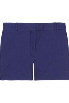 Acne  Bonnie Tailored Linen-Blend Shorts