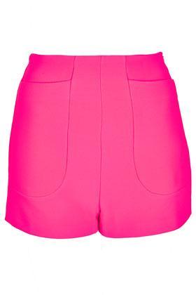 Topshop High Waist Jersey Shorts