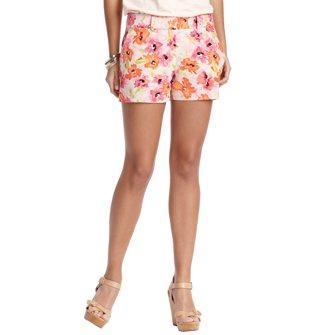 Loft Linen and Cotton Shorts