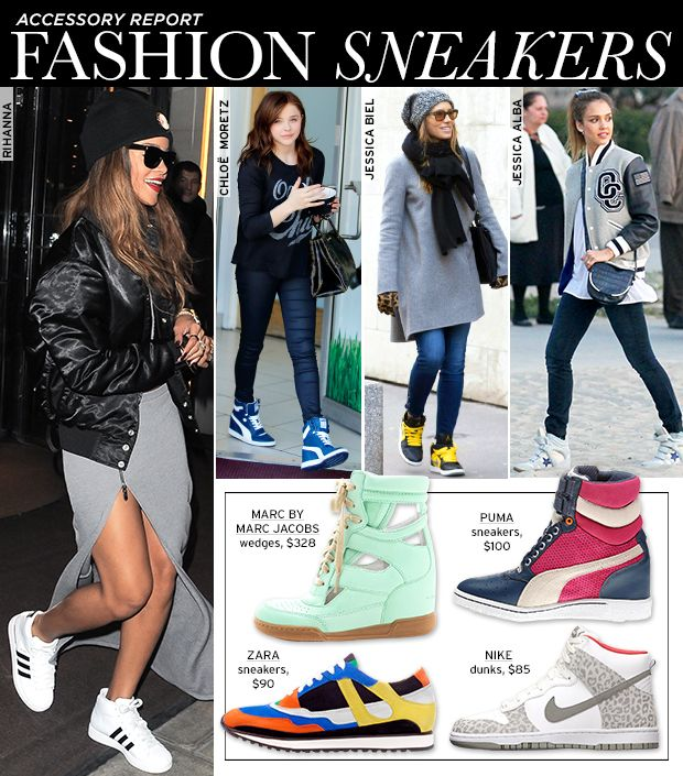 The Sneaker Goes High Fashion In Punchy Prints And Colours