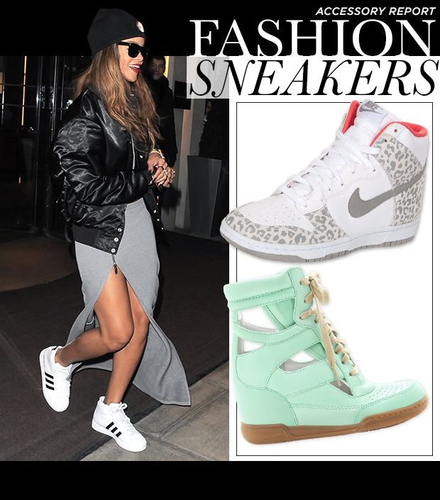 aefaa2c5a14 The Sneaker Goes High Fashion In Punchy Prints And Colors